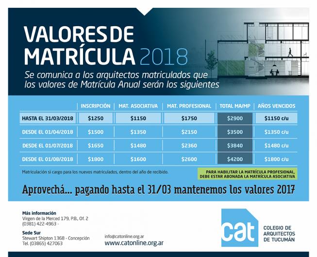 MATRICULA_2018