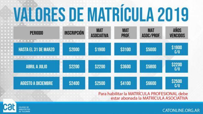 MATRICULA_ACTUALIZACION