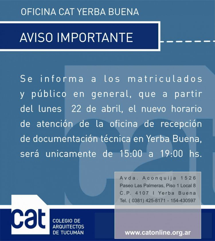 AVISO_IMPORTANTE_-_OFICINA_CAT_YERBA_BUENA
